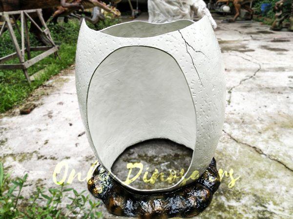 Dinosaur Eggshell Fiberglass Statues for sale3