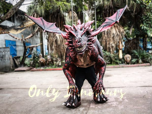 Evil Dragon Halloween Costume Frightening People1