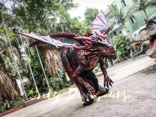 Evil Dragon Halloween Costume Frightening People4
