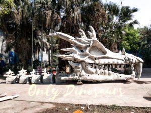 GOT Giant Dragon Skeleton for Theme Park