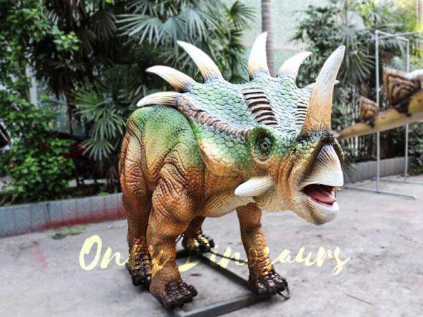 Green Animatronic Styracosaurus for Event1