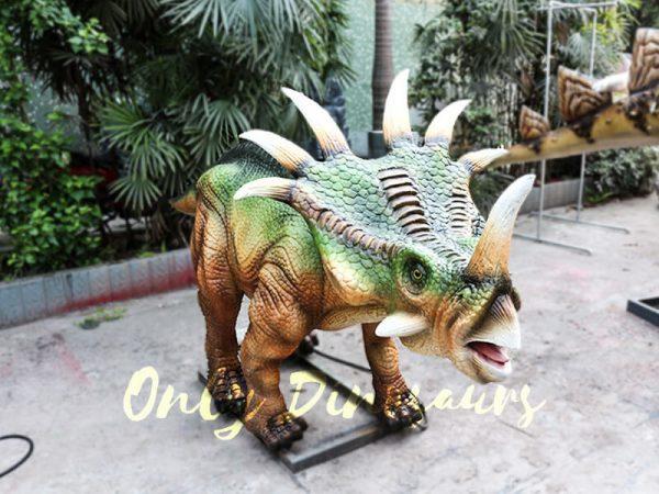 Green Animatronic Styracosaurus for Event2
