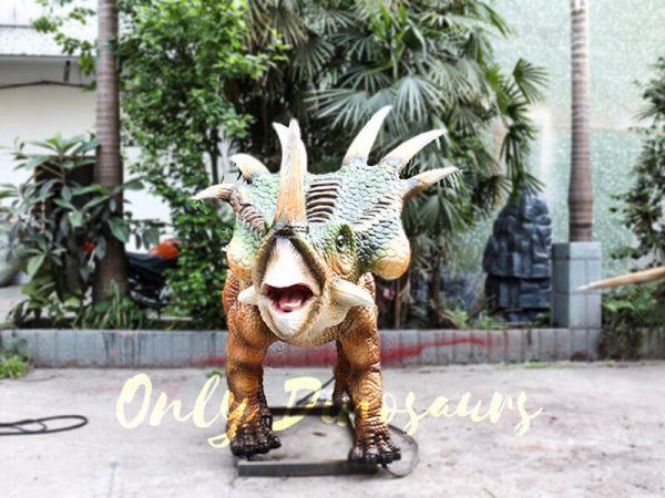 Green Animatronic Styracosaurus for Event3