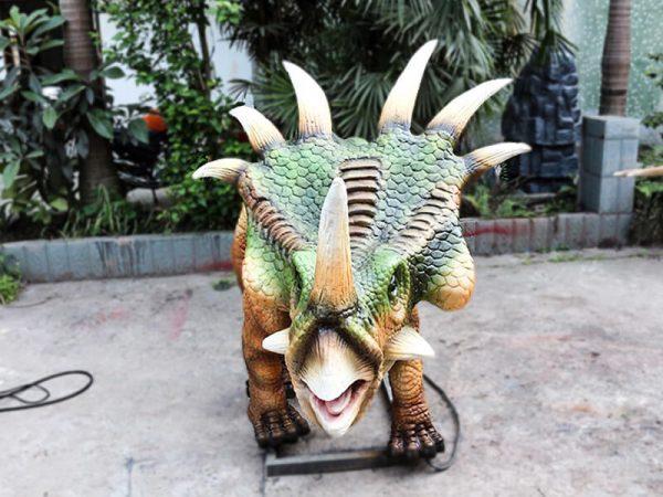 Green Animatronic Styracosaurus for Event5