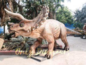 High Quality Animatronic Triceratops Robot Dinosaur