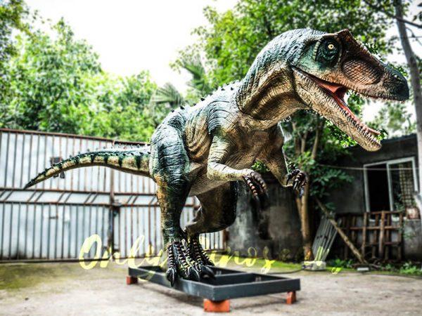 Jurassic Park Scariest Animatronics Allosaurus3