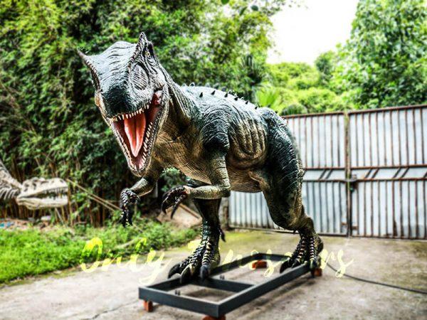 Jurassic Park Scariest Animatronics Allosaurus4