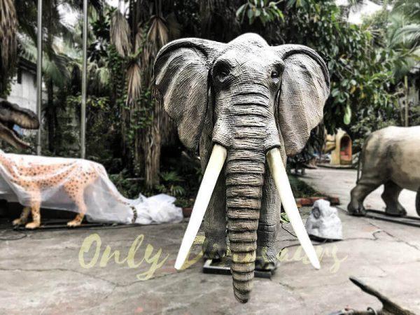 Juvenile Animatronic Elephant Realistic Model3
