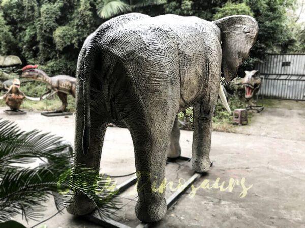 Juvenile Animatronic Elephant Realistic Model4