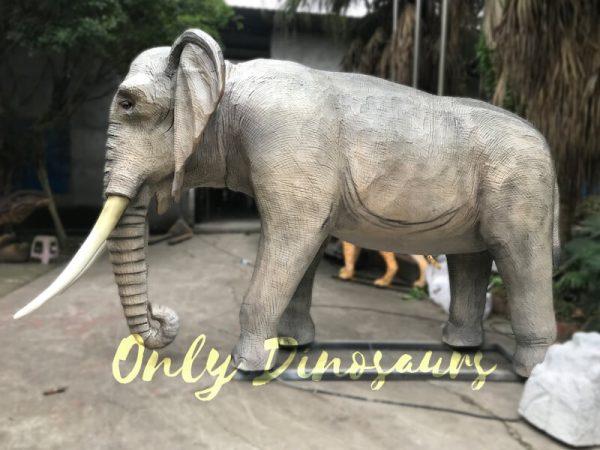 Juvenile-Animatronic-Elephant-Realistic-Model6