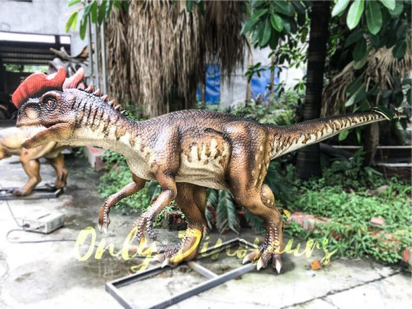 Life size Animatronic Dinosaur Dilophosaurus4