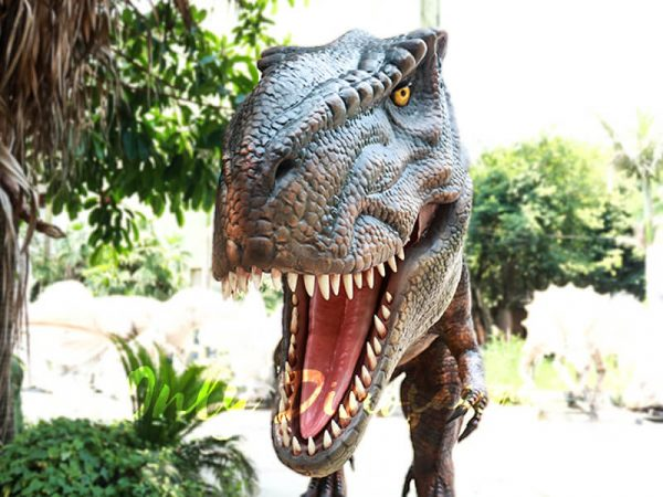 Lifelike T rex Animatronic Robot Dinosaur Model3