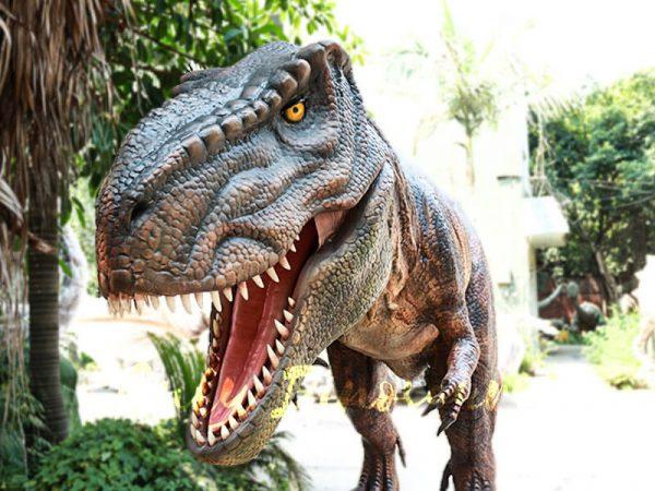 Lifelike T rex Animatronic Robot Dinosaur Model5