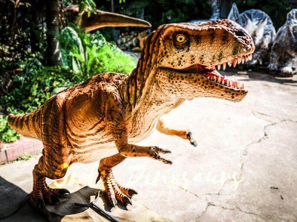 Lifelike Trex Animatronic Dinosaur in Jurassic Show3