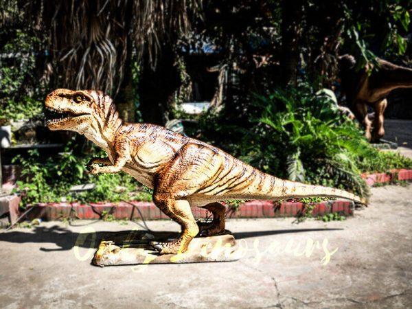 Lifelike Trex Animatronic Dinosaur in Jurassic Show4