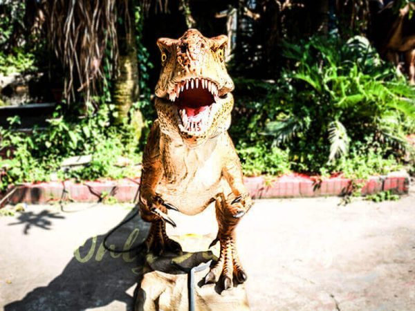 Lifelike Trex Animatronic Dinosaur in Jurassic Show5