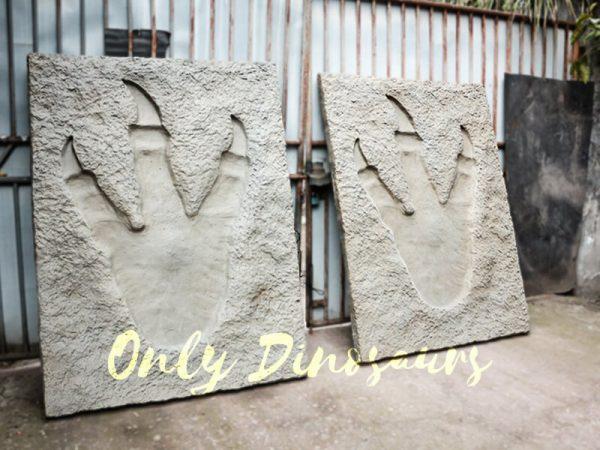 Lifesize Tyrannosaurus Dinosaur Footprint Fossil for sale1