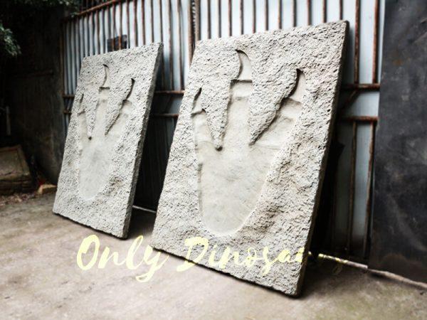 Lifesize Tyrannosaurus Dinosaur Footprint Fossil for sale4
