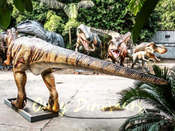 Museum Center Exhibition Animatronic Monolophosaurus2