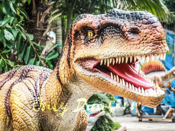 Museum Center Exhibition Animatronic Monolophosaurus3