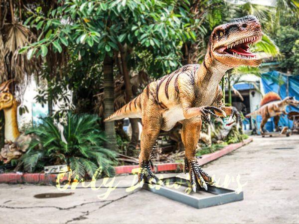 Museum Center Exhibition Animatronic Monolophosaurus4