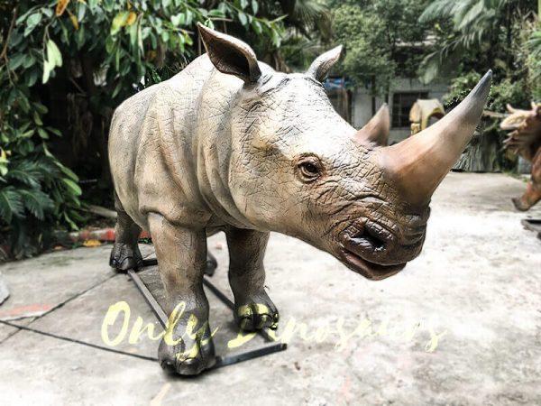 Museum Exhibition Animatronic Animals Rhinoceros2