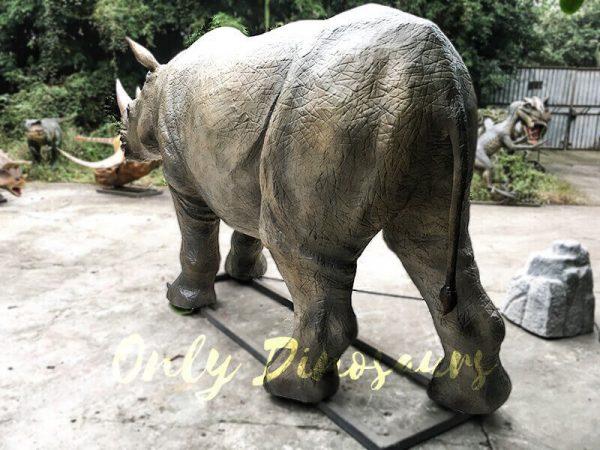 Museum Exhibition Animatronic Animals Rhinoceros4