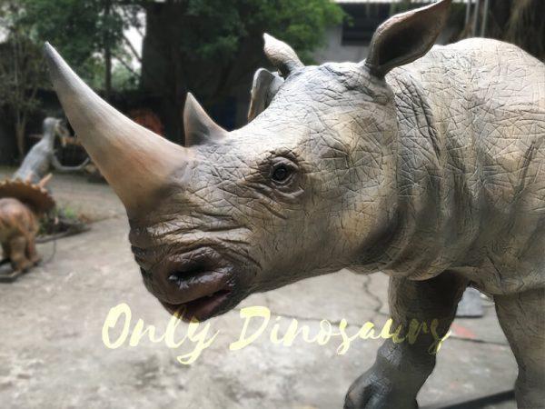 Museum-Exhibition-Animatronic-Animals-Rhinoceros6