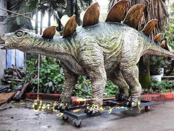 Outdoor Attraction Animatronic Dinosaurs Stegosaurus2