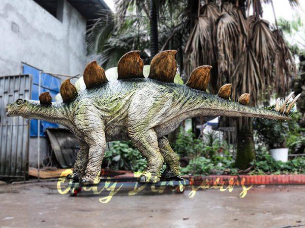 Outdoor Attraction Animatronic Dinosaurs Stegosaurus3