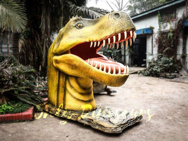 Outdoor Fiberglass Statues T Rex Head1