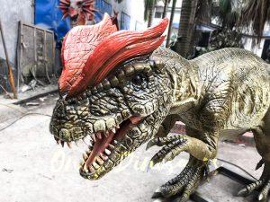 Park Atrraction Animatronic Dinosaurs Dilophosaurus