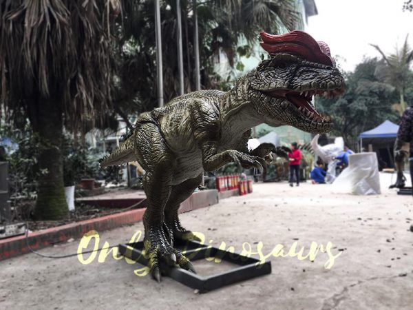Park Atrraction Animatronic Dinosaurs Dilophosaurus3