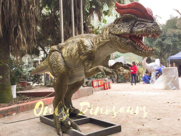 Park-Atrraction-Animatronic-Dinosaurs-Dilophosaurus33-1
