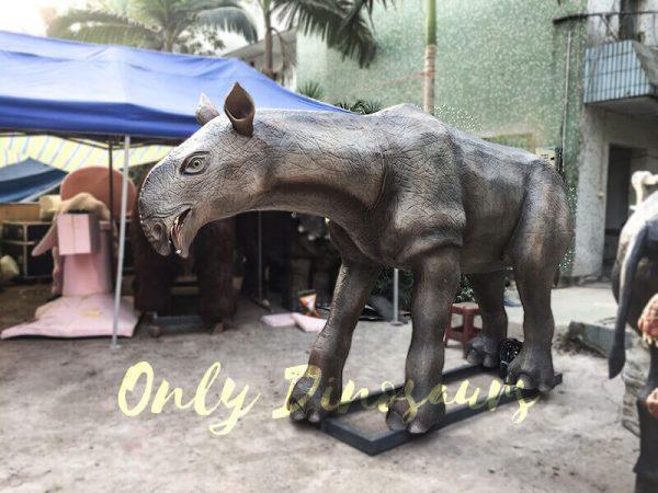 Prehistoric Animal Animatronic Paraceratherium for Museum2