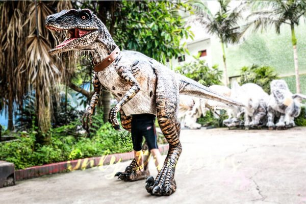 Realistic Animatronic Dinosaur Costume of Raptor1