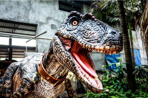 Realistic Animatronic Dinosaur Costume of Raptor2