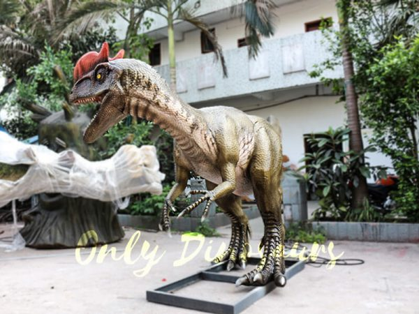 Realistic Animatronics Dilophosaurus for Dinosaur Park4