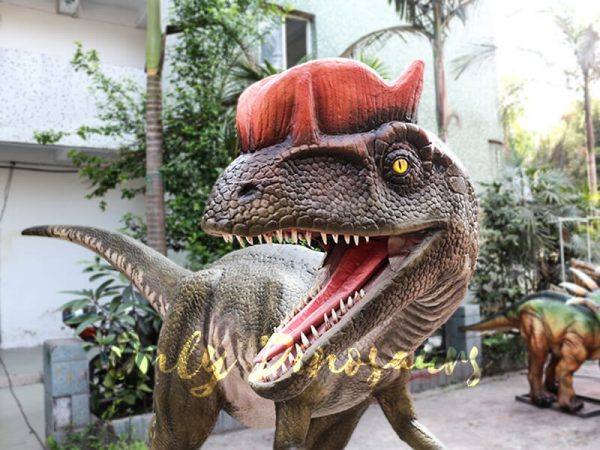 Realistic Animatronics Dilophosaurus for Dinosaur Park6