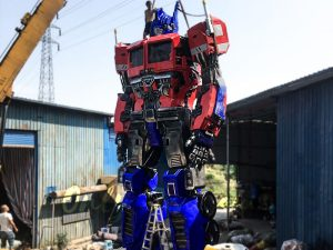 Realistic Custom Transformer Optimus Prime