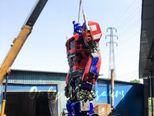 Realistic Custom Transformer Optimus Prime2
