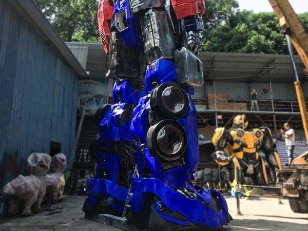Realistic Custom Transformer Optimus Prime3