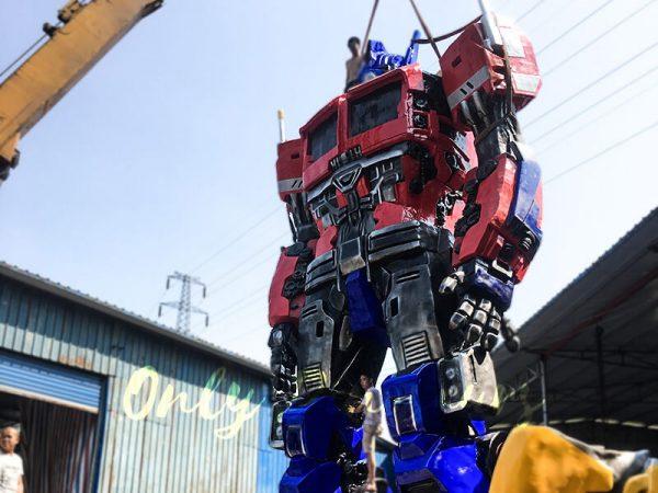 Realistic Custom Transformer Optimus Prime4