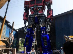 Realistic Custom Transformer Optimus Prime