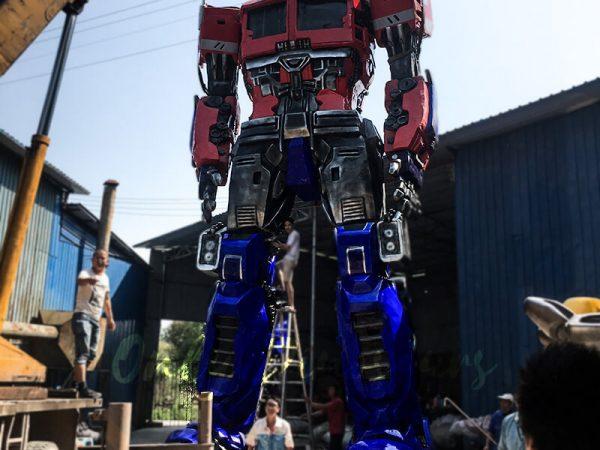 Realistic Custom Transformer Optimus Prime5