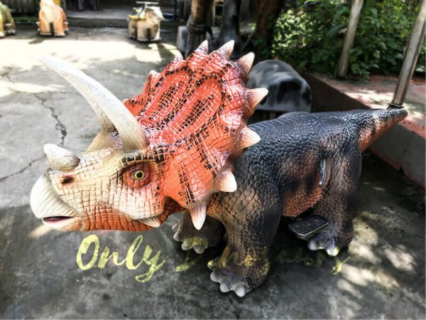 Realistic Dinosaur Rides Triceratops for sale1