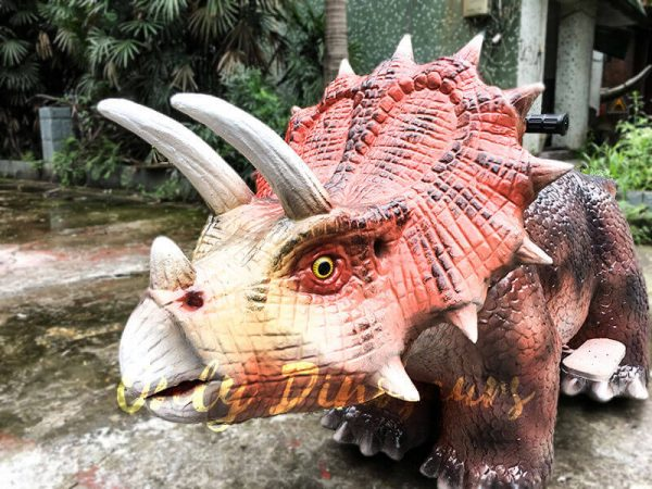 Realistic Dinosaur Rides Triceratops for sale3