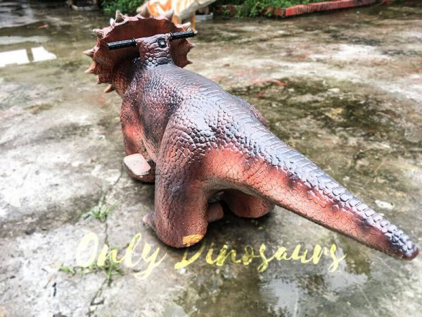 Realistic Dinosaur Rides Triceratops for sale4