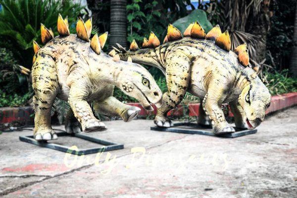 Realistic Juvenile Animatronic Dinosaur Stegosaurus5