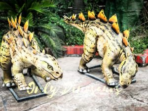 Realistic Juvenile Animatronic Dinosaur Stegosaurus